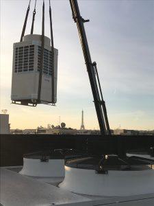 Livraison à Paris